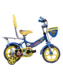 Hero Cycles Disney Mickey And Friends 12T Bicycle - Blue