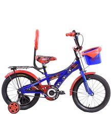 Hero Cycles Disney Spider Man 16T Bicycle - Dark Blue