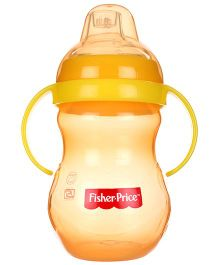 Fisher Price Training Cup With Twin Handle - Orange