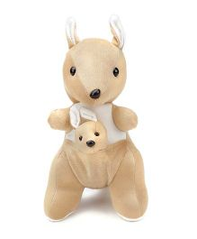Tickles Kangaroo Mother With Baby Soft Toy