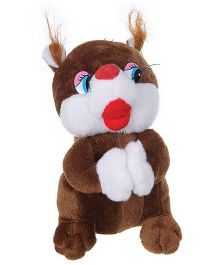 Tickles Squirrel Soft Toy Brown - Height 22 cm