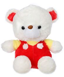 Tickles Teddy With Jacket Soft Toy Multi Colour - Height 30 cm
