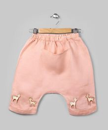 Light Coral Low Crotch Pants