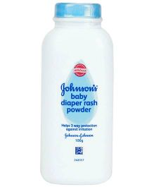 Johnson's baby Diaper Rash Powder - 100 gram