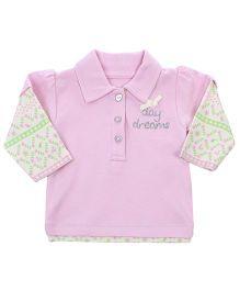 FS Mini Klub Doctor Sleeves Top - Pink