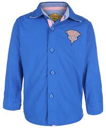 Tippy Full Sleeves Shirt - Royal Blue
