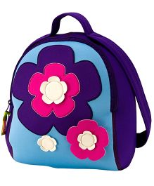 Elefantastik Flower Power Backpack Multi Color - 12 inches