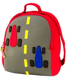 Elefantastik Fasttrack Racing Car Backpack - Multi Color