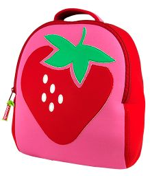 Elefantastik Strawberry Fields Backpack - Pink And Red