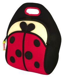 Elefantastik Lady Bug Lunch Bag - Red And Black