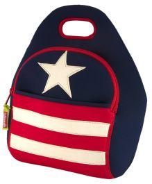 Elefantastik Star and Stripes Lunch Bag - Multi Color