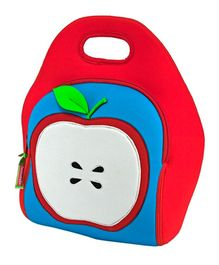 Elefantastik Apple of My Eye Lunch Bag - Red And Blue