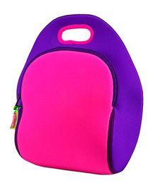 Elefantastik Block Lunch Bag - Pink And Purple