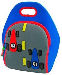 Elefantastik Fast Track Racing Car Lunch Bag - Multi Color
