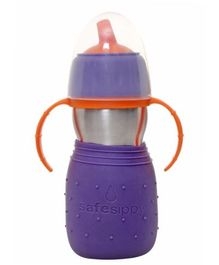 Kids Basix Stainless Steel Safe 2 in 1 Sippy