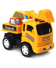 Speedage Leyland Excavator Model - Yellow
