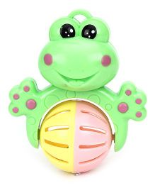 Sunny Froggy Rattle - Multi Colour