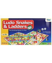 Sunny Ludo Snakes And Ladders 2 in 1 Game