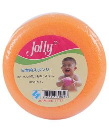 Fab N Funky Baby Bath Sponge - Orange