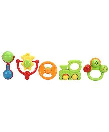 Sunny Colorful Rattle Set - 5 Rattles