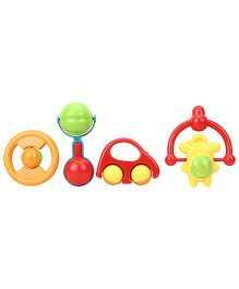 Sunny Colorful Rattle Set of 4 - Multi Color