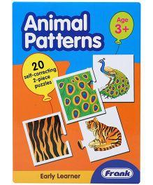 Frank Animal Patterns Puzzle Game