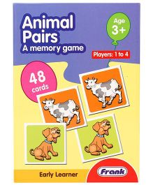 Frank Animal Pairs Puzzle Game