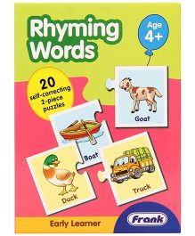 Frank Rhyming Words Puzzle Game