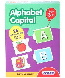 Frank Capital Alphabet Puzzle - 52 Pieces