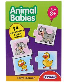 Frank Animal Babies Puzzle Game