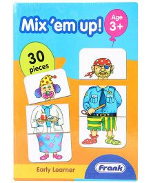 Frank Mix Em Up Puzzle Set - 30 Pieces