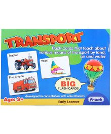 Frank Flash Cards Transport - 27 Cards