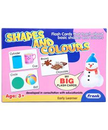 Frank Flash Cards Shapes And Colours - 27 Cards