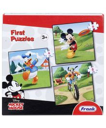 Frank First Puzzle Mickey Mouse And Friends Jigsaw