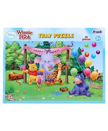 Disney Winnie the Pooh Tray Puzzle - 15 Pieces