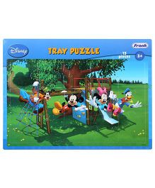 Frank Mickey Mouse And Friends Tray Puzzle - 15 Pieces