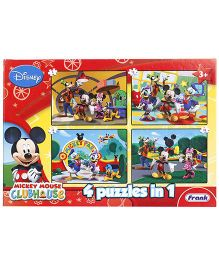 Disney Mickey Mouse Clubhouse 4 In 1 Puzzles