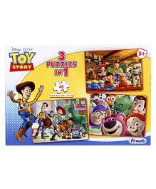 Disney Toy Story Puzzle 3 In 1 - 48 Pieces