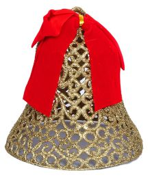 Party In A Box Bell With Glitter - Golden
