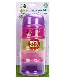 Disney Baby 4 Layer Milk Powder Case - Multi Colour