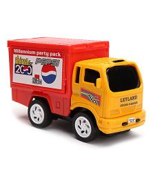 Speedage Leyland Goods Carrier - Yellow And Red