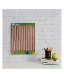 Kidoz Animal Economy Pinboard - Green