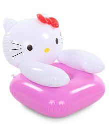 Suzi Hello Kitty Sofa - Pink And White