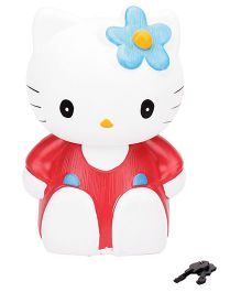 Speedage Money Bank With Keys Hello Kitty - Blue And White