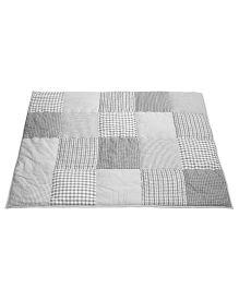 Taftan European Brand 5 layer Padded Play Mat Grey Patch