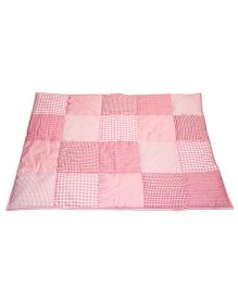 Taftan European Brand 5 layer Padded Play Mat Pink Patch