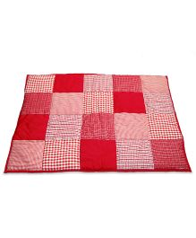 Taftan European Brand 5 layer Padded Play Mat Red Patch