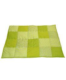 Taftan European Brand 5 layer Padded Play Mat Lime Patch
