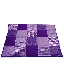 Taftan European Brand 5 layer Padded Play Mat Purple Patch