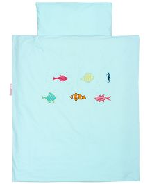Taftan European Brand Big Size Quilt Fish